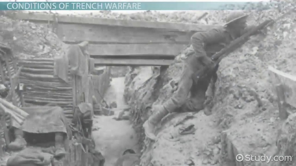 Trench Warfare During WWI Definition Facts  Conditions  Video  Lesson Transcript  Studycom