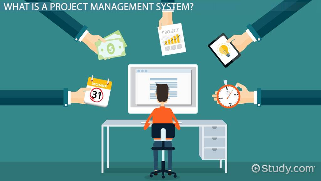 Project Management System: Definition & Example - Video & Lesson ...