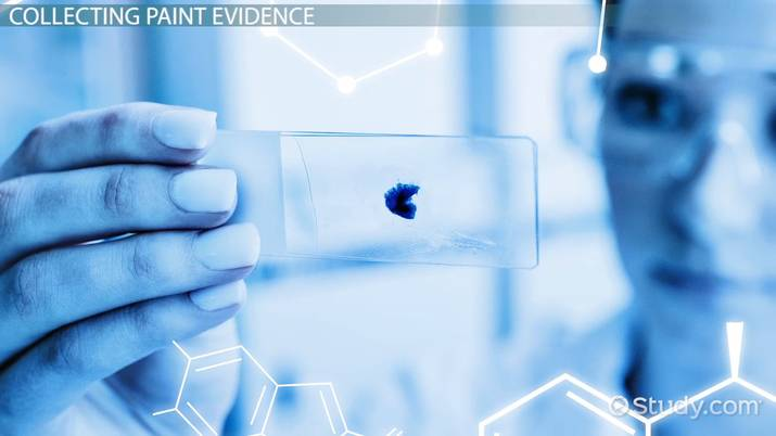 Paint As Forensic Evidence Purpose Collection