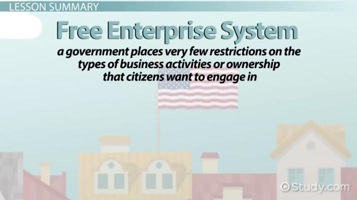What Is The Free Enterprise System? Definition & Examples Video