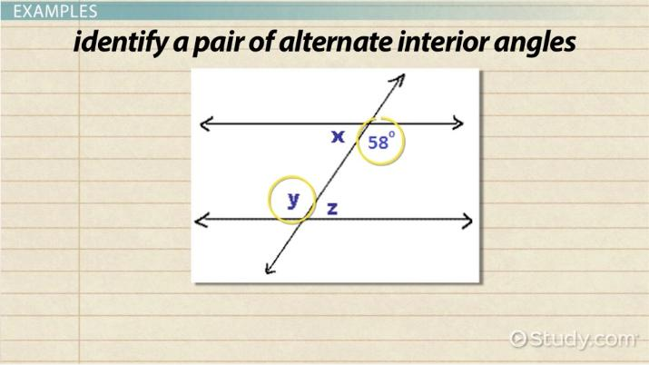 Alternate Interior Angle Theorem