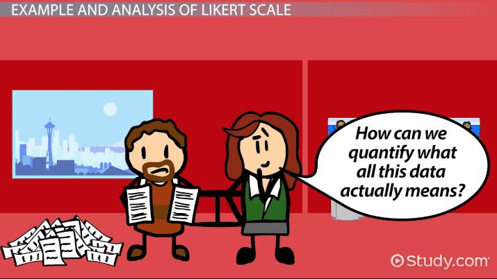 Likert Scale Definition Examples & Analysis Video & Lesson