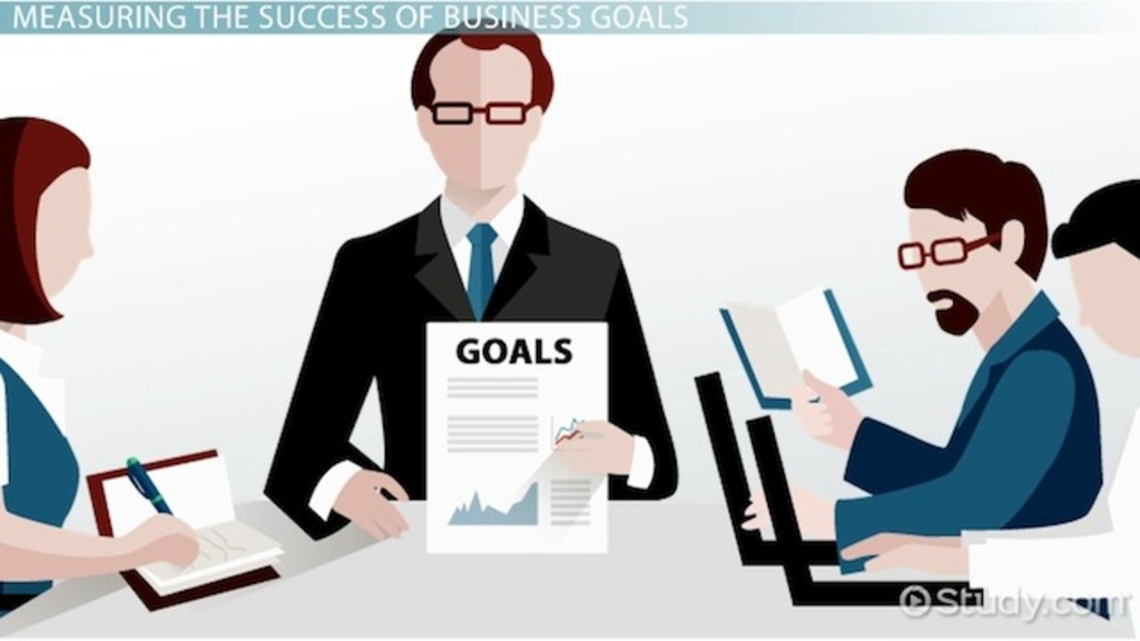 What Are Business Goals? Definition & Examples Video