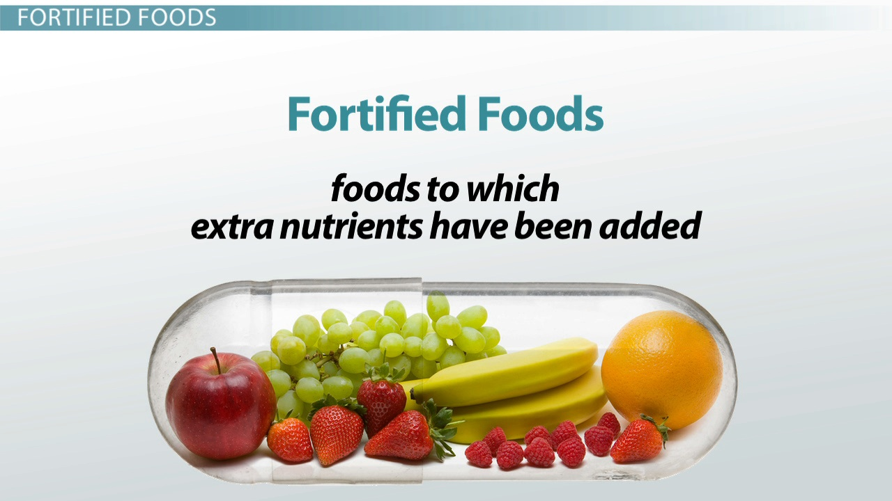 What Are Fortified Foods? Definition & Examples Video