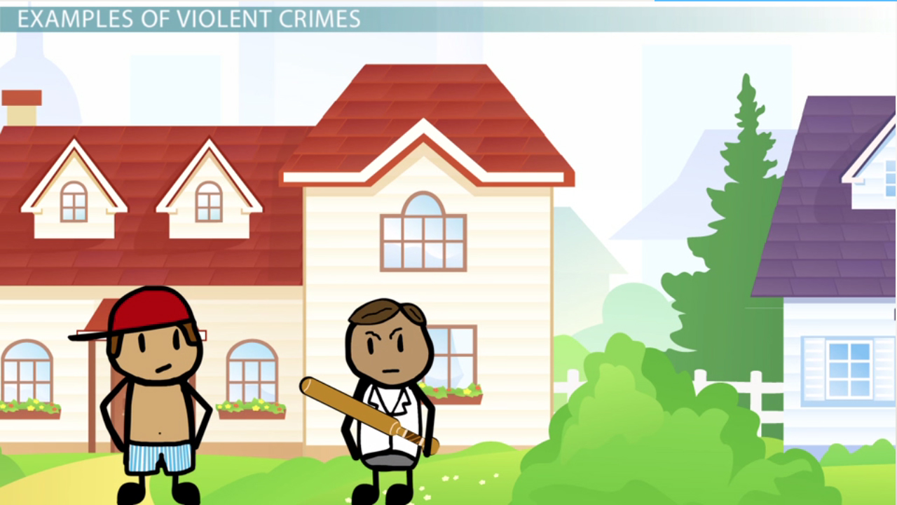 What Are Violent Crimes? Definition Types & Examples