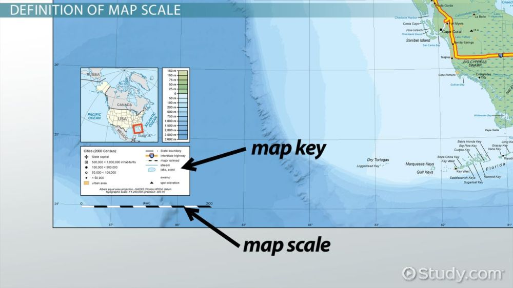 medium resolution of What is a Map Scale? - Definition