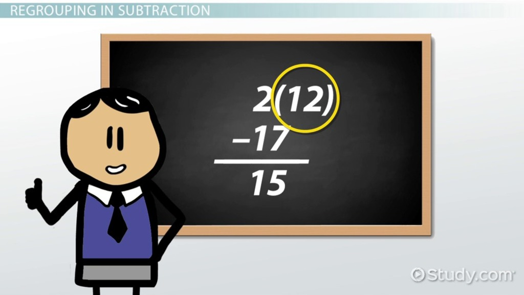 What Is Regrouping In Math? Definition Subtraction & Addition