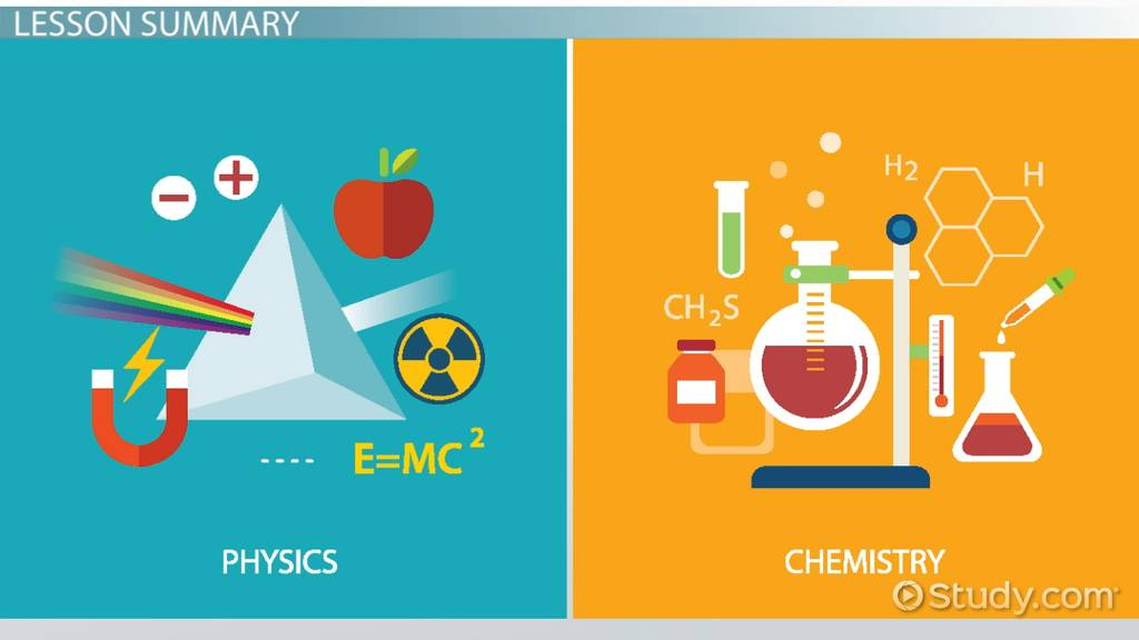 What Is The Difference Between Chemistry & Physics
