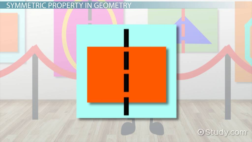 Symmetric Property In Geometry Definition & Examples