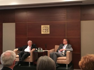 Dr. Richard L. Rubenstein, the author of After Auschwitz and Dr. Stephen Healey, the respondent of this anniversary.