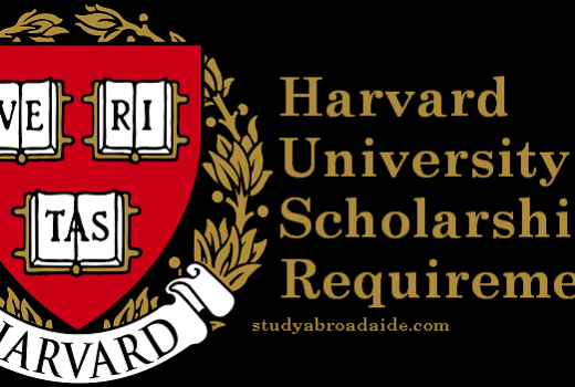 Harvard University Scholarships Requirements