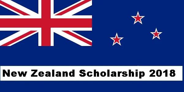 New Zealand Scholarship 2018