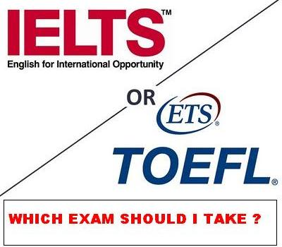 TOEFL or IELTS