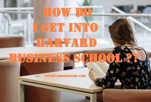 How do I get into Harvard Business School