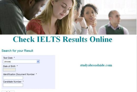 How to check British Council IELTS Result