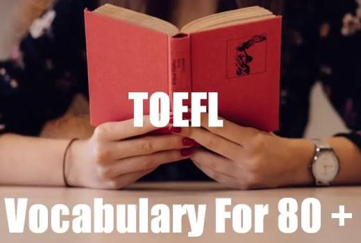 TOEFL Vocabulary pdf
