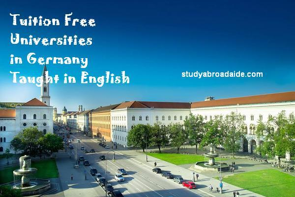 Tuition Free Universities in Germany