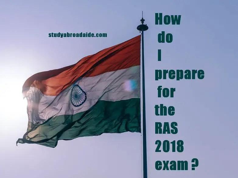 How do I prepare for the RAS 2018 exam