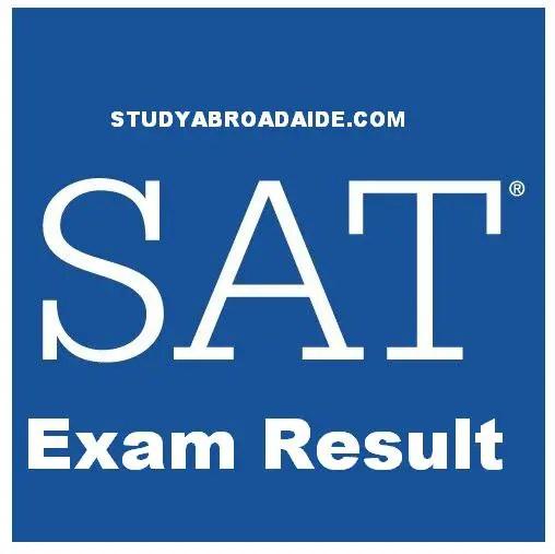 SAT Exam Result