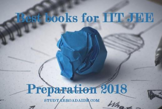 Best books for IIT JEE preparation 2018