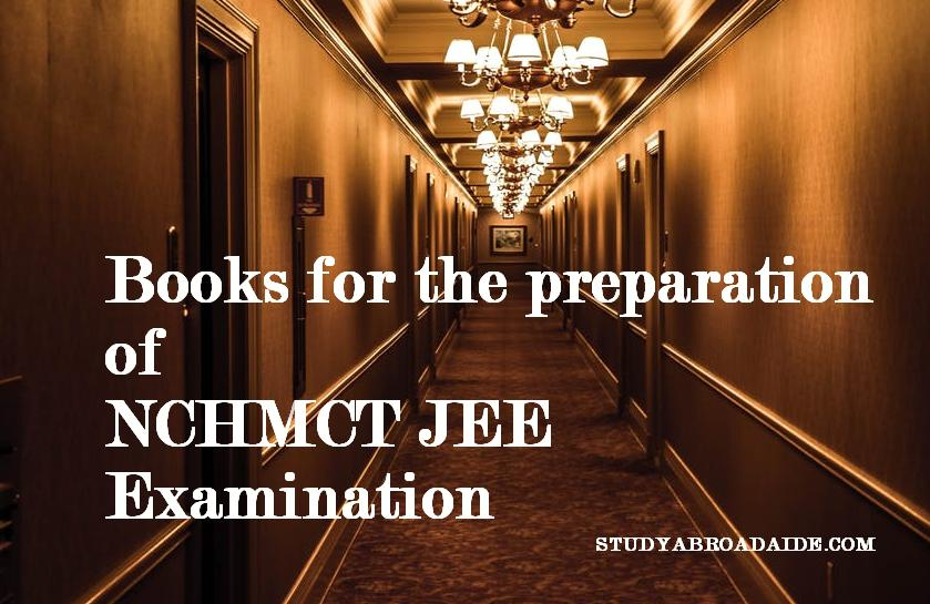 Books for the preparation of NCHMCT JEE examination