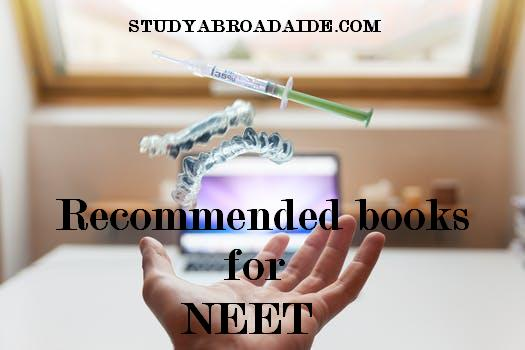 Recommended books for NEET