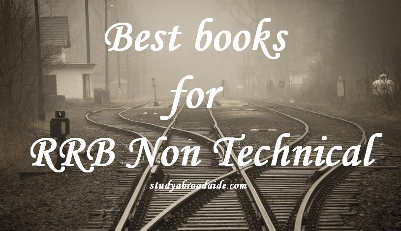 Best books for RRB Non Technical