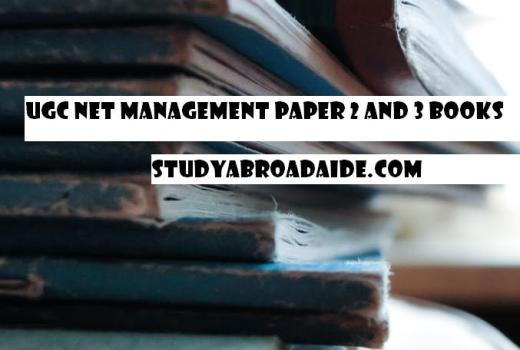 UGC NET Management Paper 2 and 3 Books