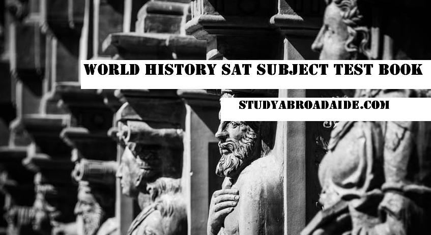 World History SAT Subject Test Book