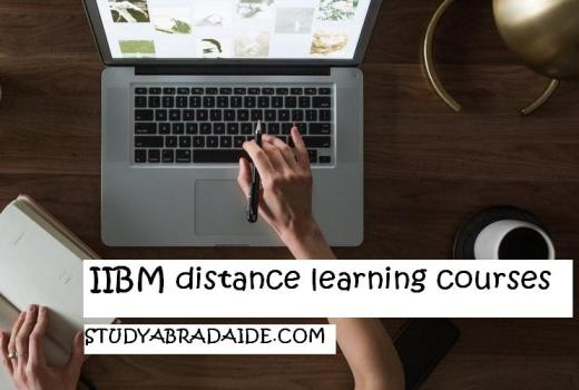 IIBM distance learning courses