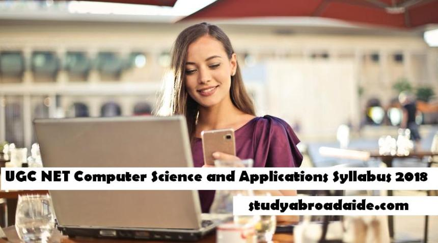 UGC NET Computer Science and Applications Syllabus 2018