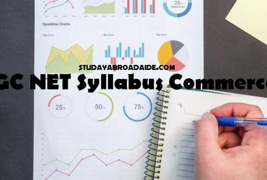 UGC NET Syllabus Commerce 2018