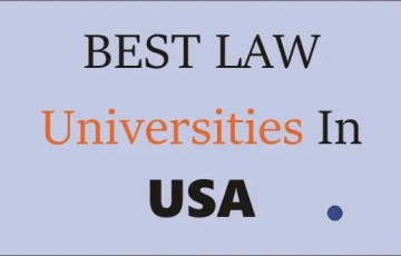best law universities in usa