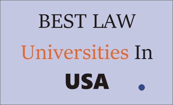 best law universities in usa