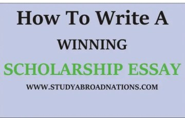 winning scholarship essay examples, how to write a winning scholarship essay