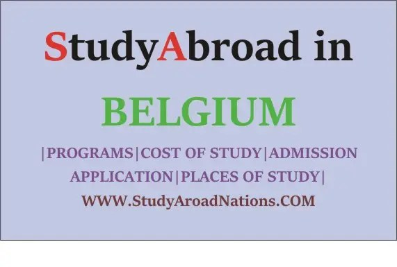 Study abroad in Belgium