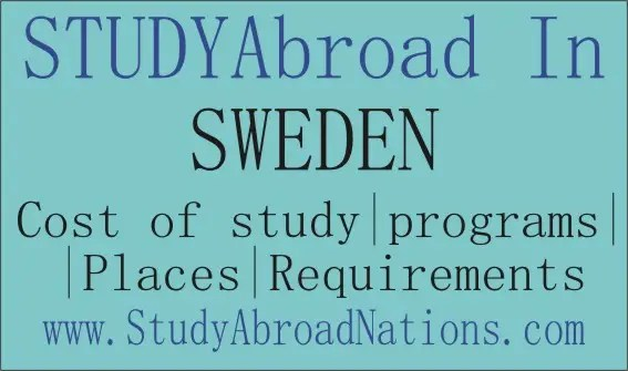 study abroad in Sweden