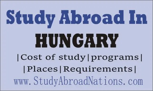 Study abroad in Hungary