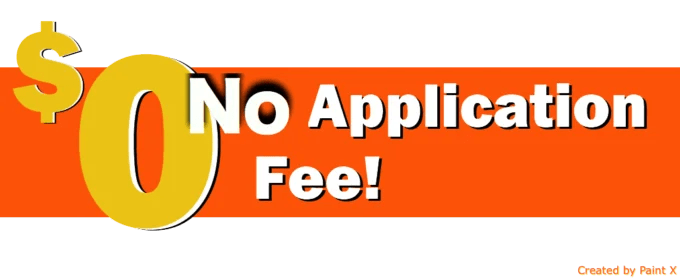 universities with no application fee in europe