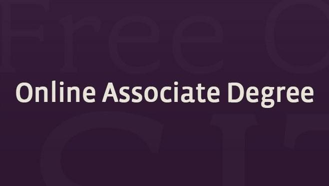 Free Online Associate Degrees
