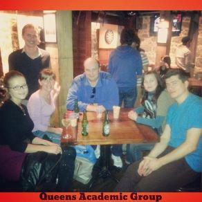 На фото ниже я (слева) и мои студенты : Мария, Валерий, Марина и Руслан.