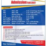 Stamford University Admission Fall 2017