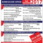 Shanto-Mariam University of Creative Technology Admission Fall 2017