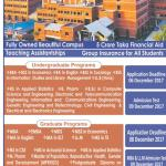 East West University Admission Spring 2018
