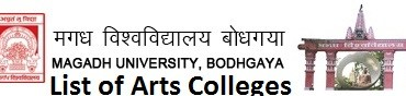 List of Arts colleges Magadh University Bodhgaya