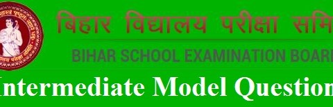 BSEB Model Question 2019