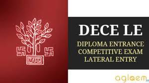 Diploma Entrance Competitive Examination (Lateral Entry)