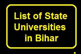 LIST OF UNIVERSITIES AND COLLEGES IN BIHAR