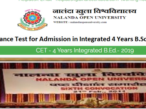Integrated CET B.Ed