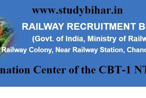 Downlaod the Reschedule Notice of NTPC 4th Phase Examination-2021 in RRB